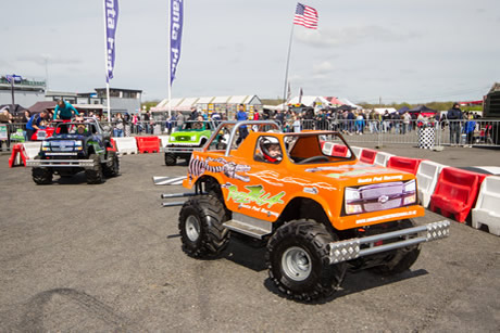 Mini Monster Trucks