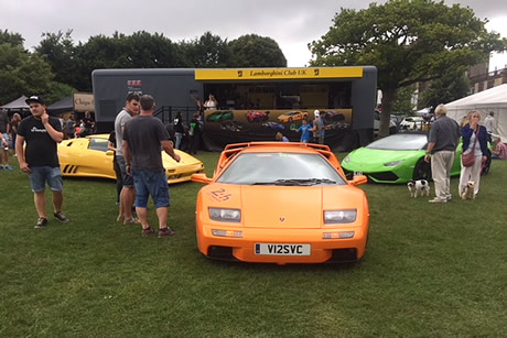 The Lamborghini car club