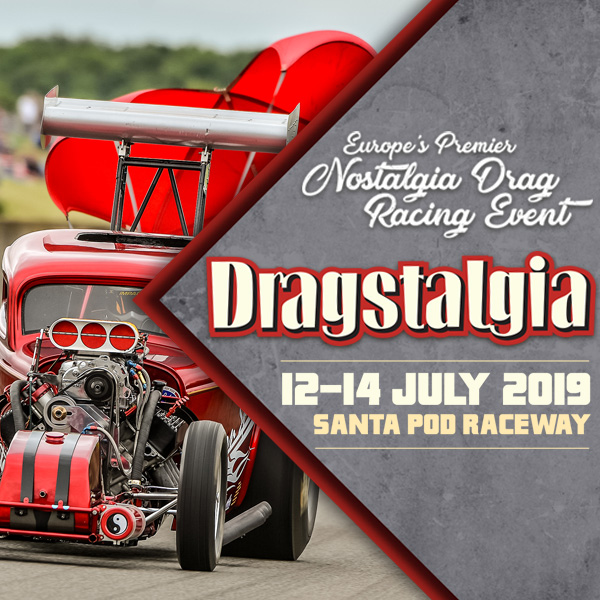 Santa Pod Raceway - Dragstalgia Entry List