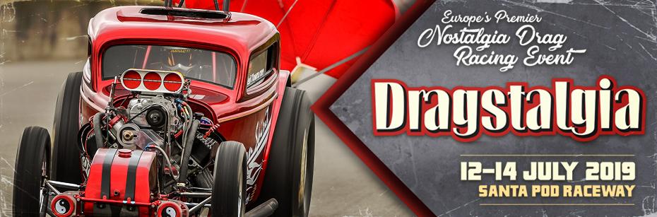 Santa Pod Raceway - Dragstalgia