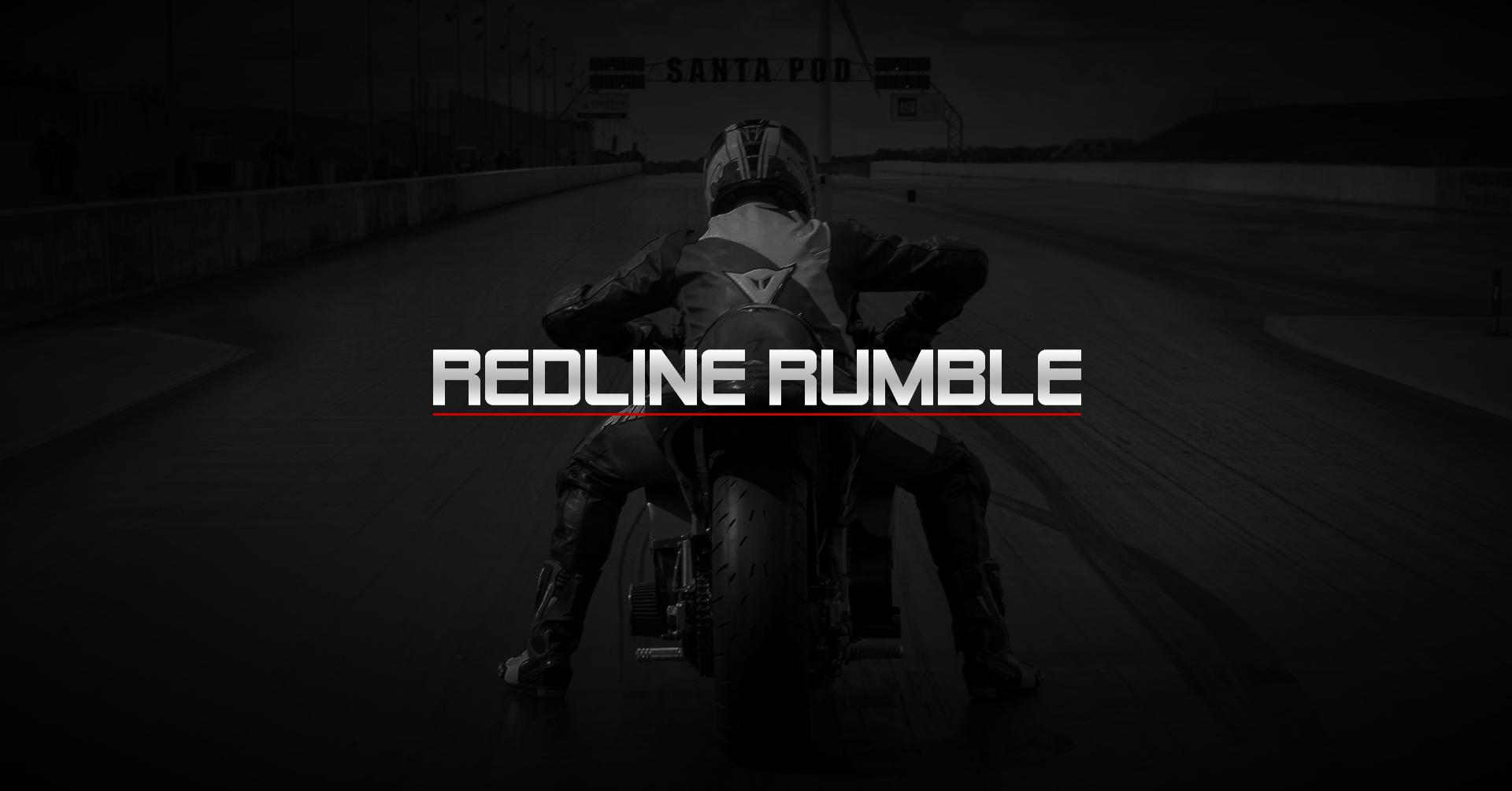 santa pod raceway redline rumble