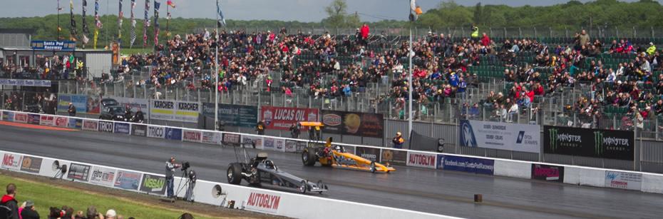Santa Pod Raceway Grandstand Plan
