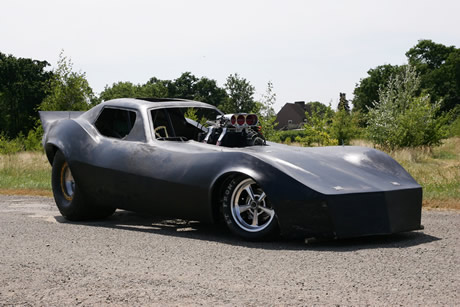 Santa Pod Raceway - Nostalgia Funny Car